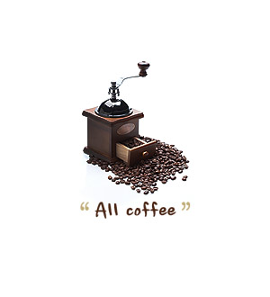 All coffee